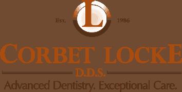 Corbet Locke DDS dental office logo - Woodway, TX